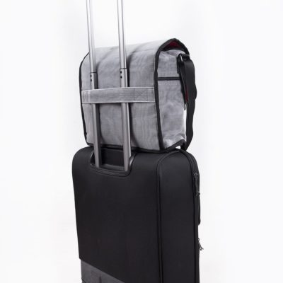 Shuttle - ethical business bag - detail suitcase