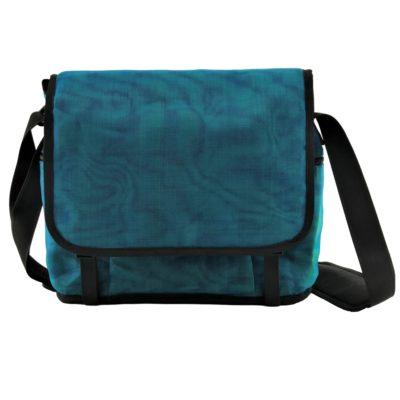 Shuttle - ethical business bag - Oil blue