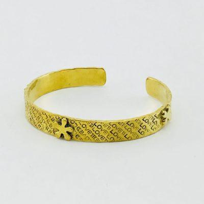 Star Bracelet – Recycled Brass
