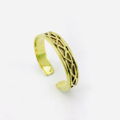 Le Bracelet Tressé – Laiton Recyclé