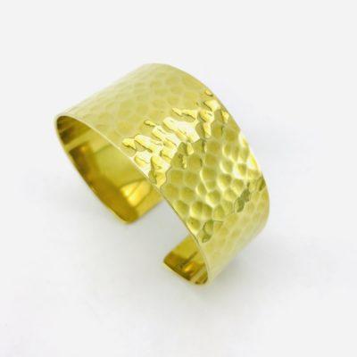 Le Bracelet Bandeau Martelé