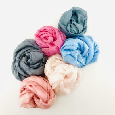 Collection Pierres Précieuses - foulard soie équitable