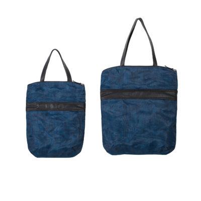 Le Voyageur - Fourre-tout éthique - Bleu marine - Petit et Grand